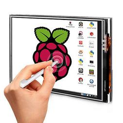 3.5 Inch  Display Touch Screen LCD Monitor + Case+Touch Pen