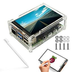 """3.5"""" TFT 6LED Touch Screen Monitor LCD+Case+Touch pen for Ra"""