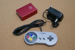 Raspberry Pi 3 B+ Retropie Retro Video Game Console with ove