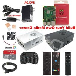 Raspberry Pi 3 Model B+ B Plus Media Center Kit M3B01 US Sel