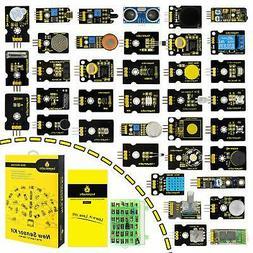KEYESTUDIO 37 in 1 Sensor Kit for Arduino UNO R3 MEGA 2560 N