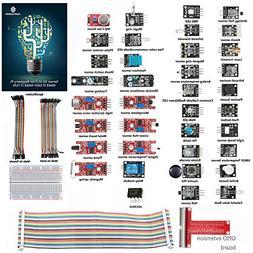 SunFounder 37 modules Sensor Kit for Raspberry Pi 3, 2 and R