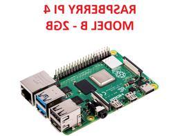 Raspberry PI 4 Model B 2GB QuadCore 64bit Motherboard Comput