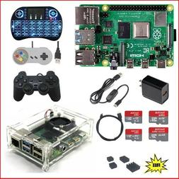 Raspberry Pi 4 Model B  Kit - KODI RetroPie Minecraft