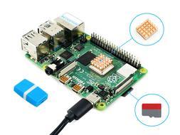 Raspberry Pi 4 Model B Starter Kit with Micro SD Card Heat S