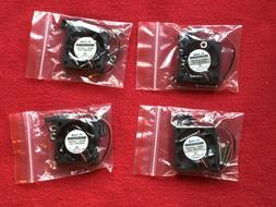 4 PACK Raspberry Pi DC Brushless Cooling Fan 3.5V - 5V 40X40