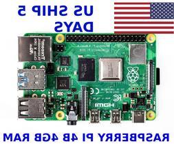 Raspberry Pi 4B version 4 Model B 4GB RAM - FAST USA Shippin