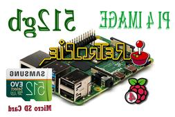 512 GB Raspberry Pi 4 Retropie Micro SD Card Fully Loaded Pr