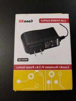 CanaKit 5V 2.5A Raspberry Pi 3 B+ Power Supply / Adapter