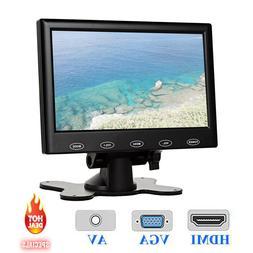 "7""/9""/10"" LCD CCTV Monitor PC Screen AV RCA VGA HDMI 1080P f"