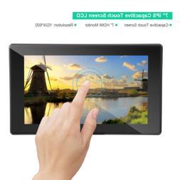 7inch Capacitive Touch Screen LCD Display HDMI VGA For Raspb