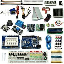 Gikfun Ultimate UNO R3 Starter Kit for Arduino 1602 LCD Serv