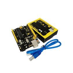 Keyestudio Atmega328P ATMEGA16U2 Development Board +USB Cabl