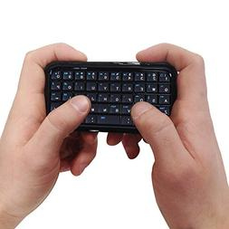 HDE Bluetooth 3.0 Keyboard Mini Travel Size Wireless Pocket