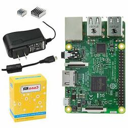 Brand New CanaKit Raspberry Pi 3 with 2.5A Micro USB Power S