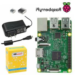 CanaKit Raspberry Pi 3 Model B Starter Kit w/ 2.5A Micro USB