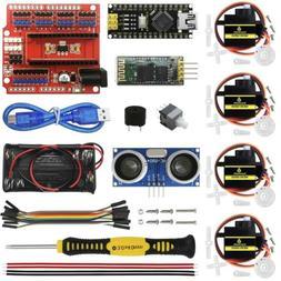 KEYESTUDIO Nano Bluetooth Electronic Coding Kit for Arduino
