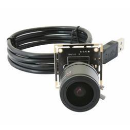 CMOS Camera Module Board HD 5MP 2.8-12mm Varifocal Lens For