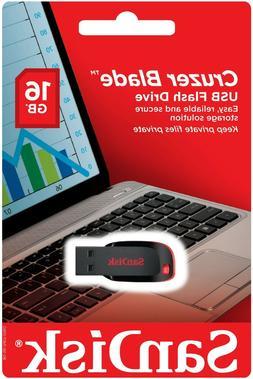 SanDisk Cruzer Blade 16 GB USB Flash Drive Thumb Pen USB Mem
