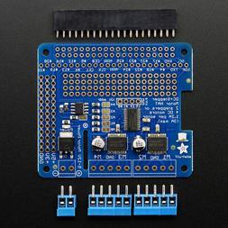 Adafruit DC & Stepper Motor HAT for Raspberry Pi, Mini Kit,