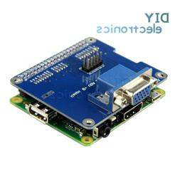 Dedicated VGA Expansion Board VGA V2.0 for Raspberry Pi 3b/2