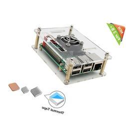 Free shipping,iUniker Raspberry Pi 4 Case, Raspberry Pi 4b C