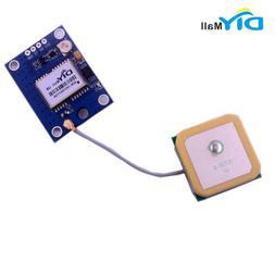 DIYmall GPS Module with Active GPS Ceramic Antenna for Ardui