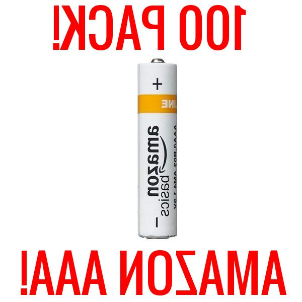 100 amazon aaa alkaline batteries basics 1