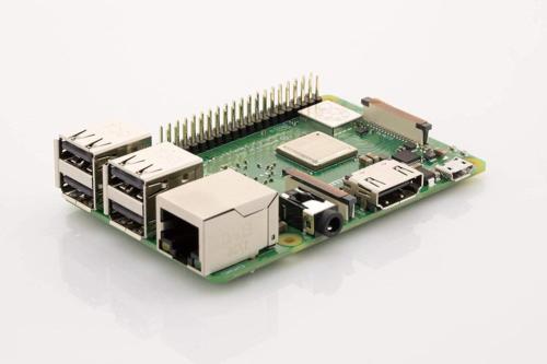 Element14 Raspberry 3 B+ Motherboard Internal Components Electronics