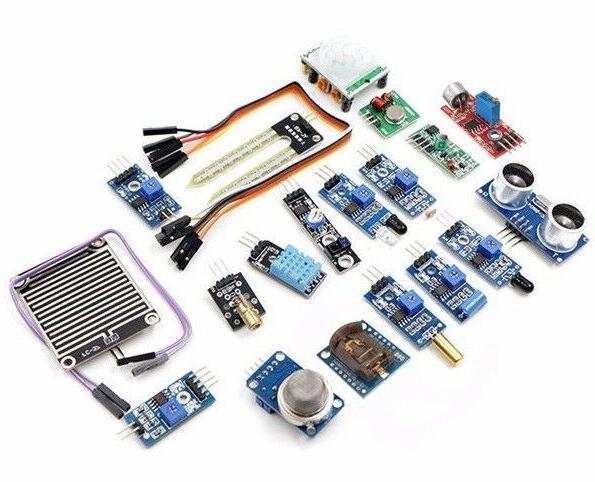 16pcs sensor module kit laser ultrasonic