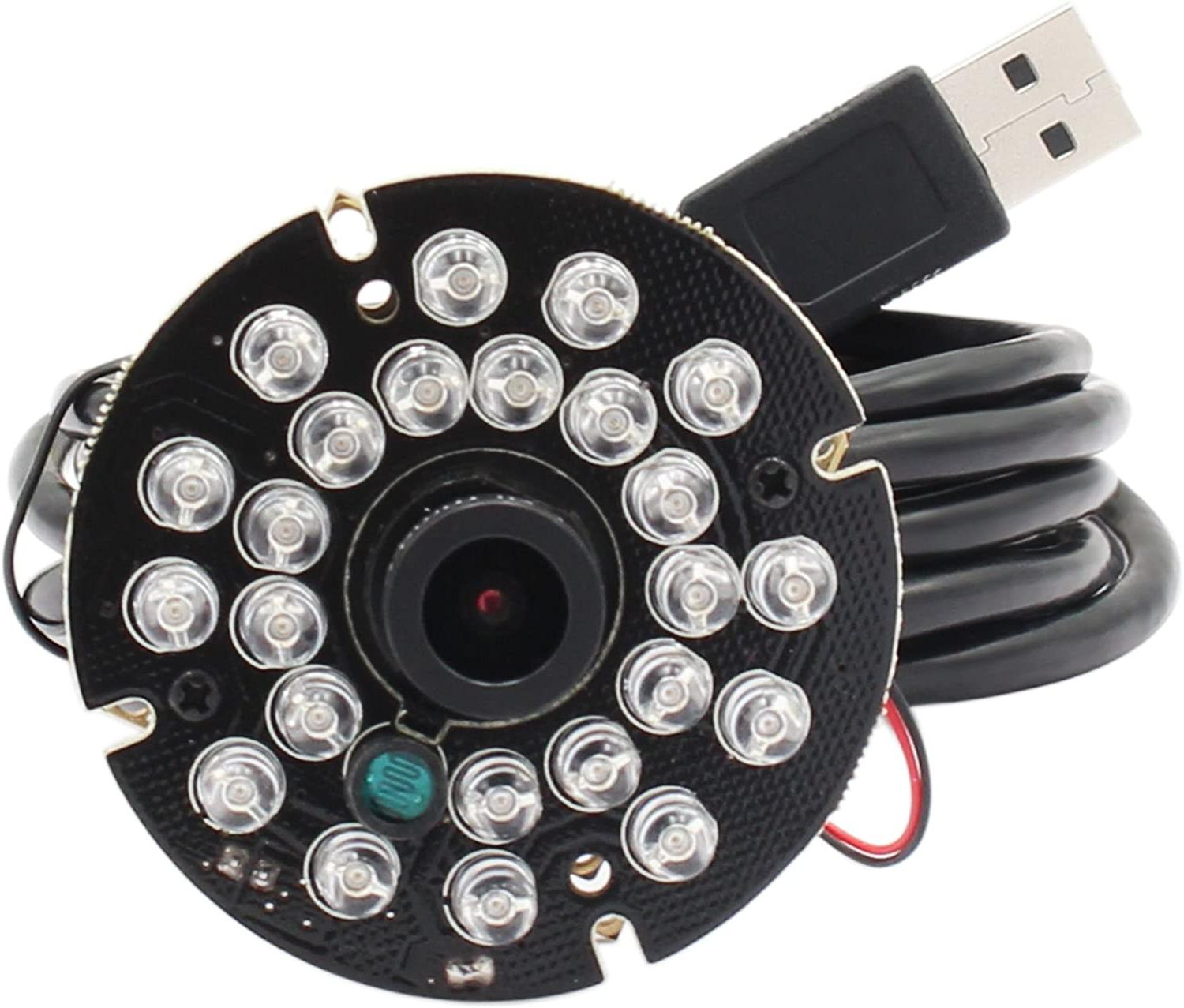 2 8mm wide angle ir led infrared