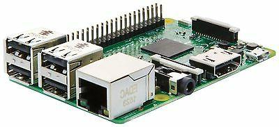 Raspberry 3 B RAM Quad Core 1.2GHz 64 CPU Bluetooth PC