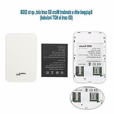 ASHATA 4G Extender, Pocket Booster/Wireless Router Signal