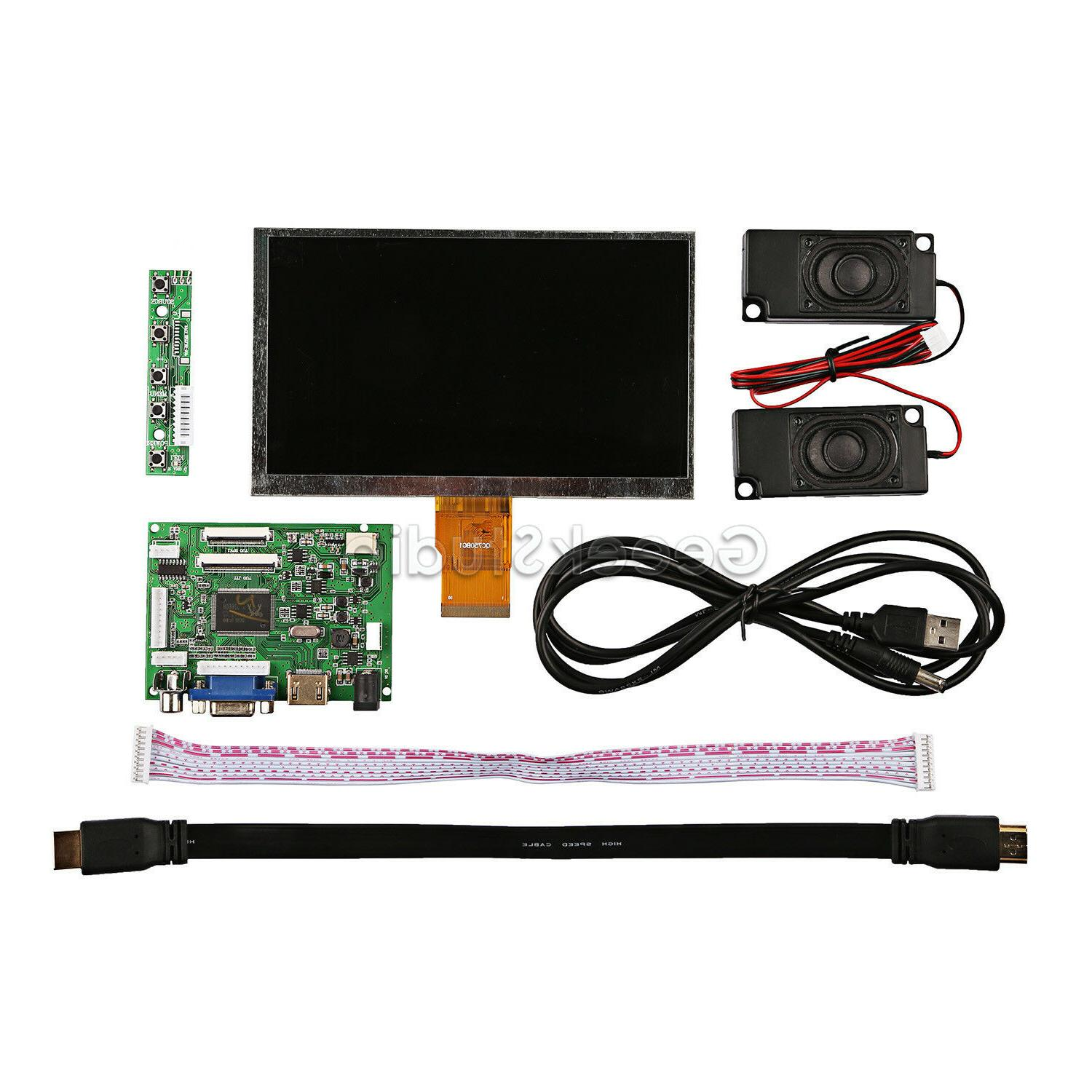 7'' Display For + Driver Board+ Amplifier+