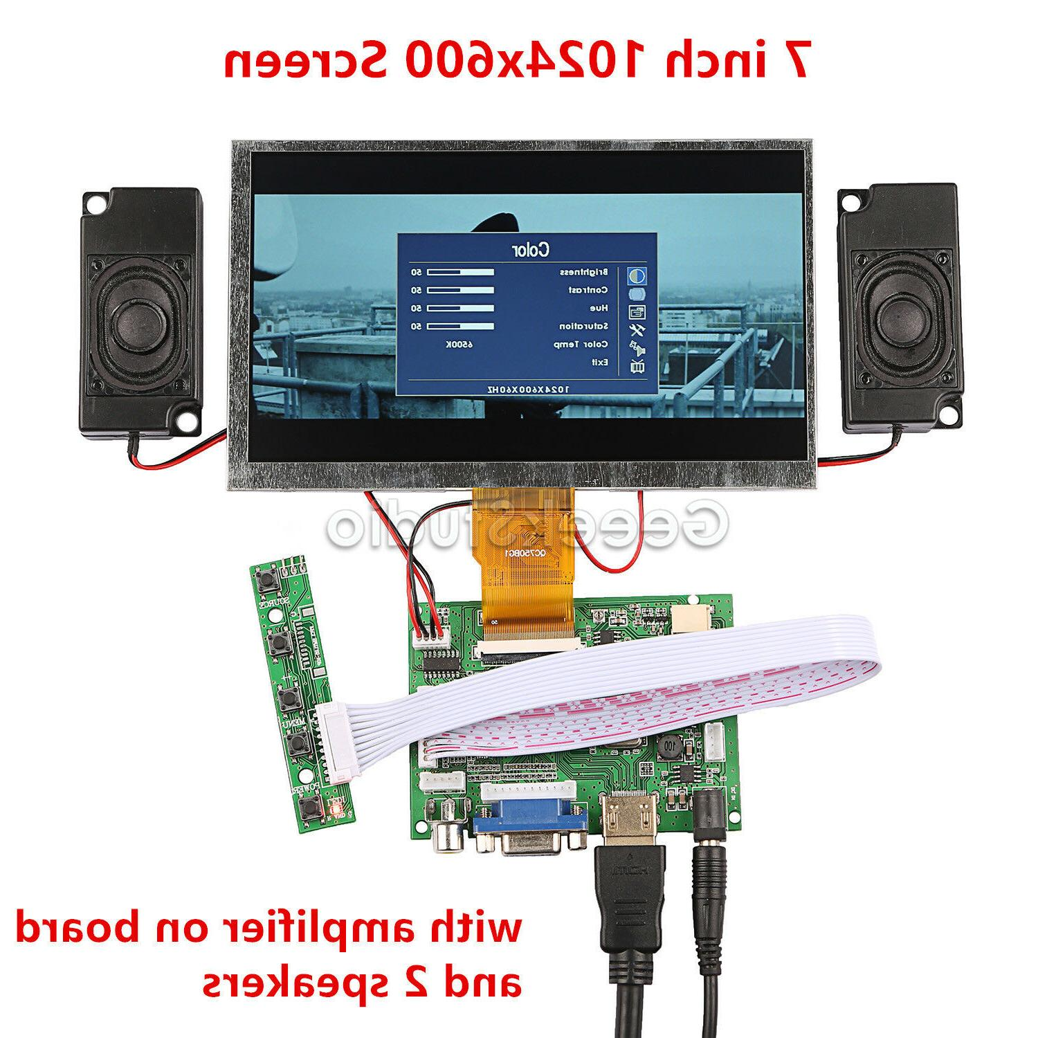 7 1024 600 display screen for raspberry