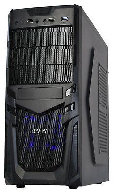 VIVO ATX Mid Tower Economy Computer Gaming PC Case/Black Des