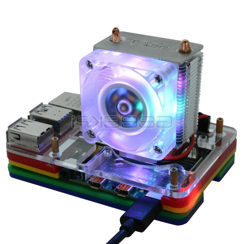 GeeekPi Case for Raspberry B,Compatible with Ice Tower Fan
