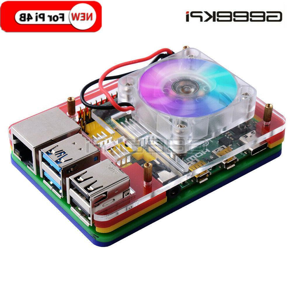 acrylic case for raspberry pi 4 model