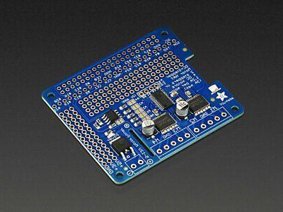 Adafruit & Motor for Raspberry Pi - Mini