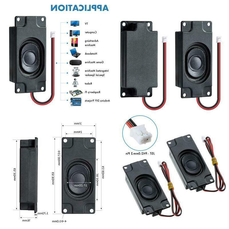 arduino speaker 3 watt 8 ohm jst
