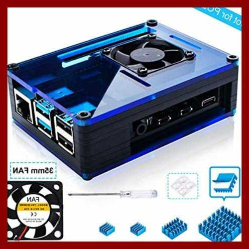 case for raspberry pi 4 w large