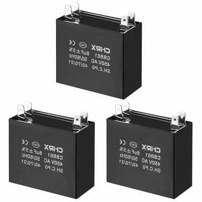 cbb61 run capacitor 450v ac 8uf doule