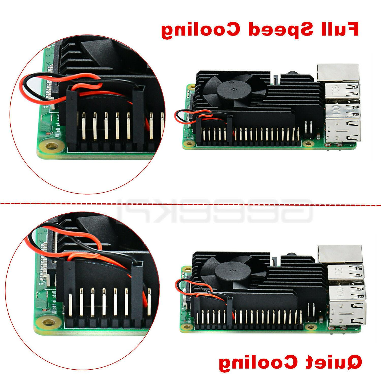 GeeekPi CNC Fan Heatsink Raspberry Pi Model