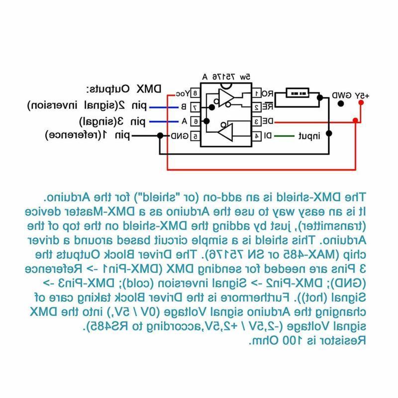 DMX Shield MAX485 for @CQRobot, Device