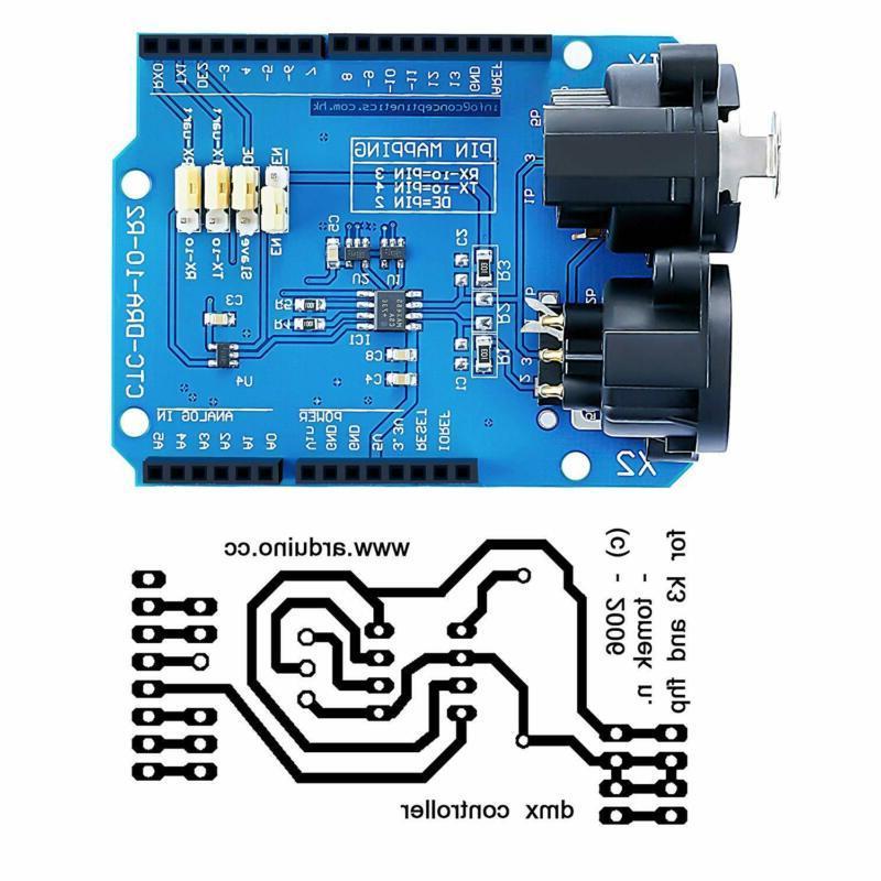 DMX Shield for @CQRobot, Device