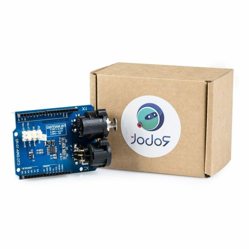 DMX Shield for Arduino @CQRobot, Device into