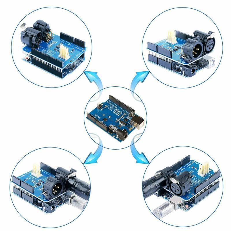 DMX Shield for Arduino Device