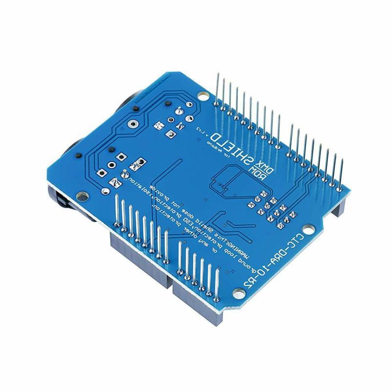 DMX Shield for Arduino Device into
