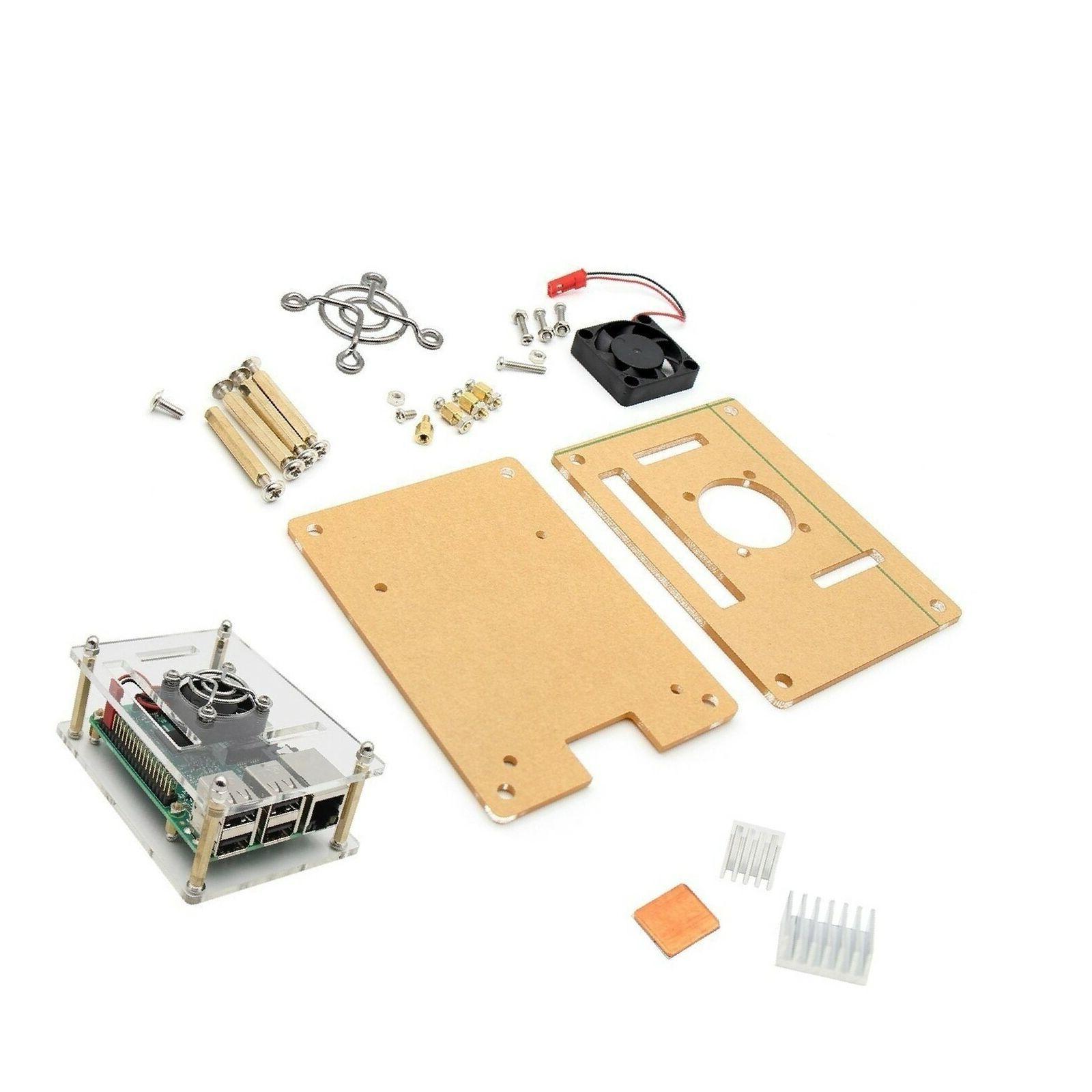 Free shipping,iUniker Raspberry Pi 4 Case, 4b Case