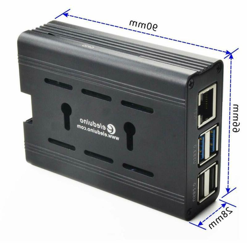 Internal Raspberry 4 Mode Alloy Case Cooling Fan